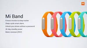 XIAOMI breaks the market : smart fitness bracelet XIAOMI MI BAND Revealed at 16 $