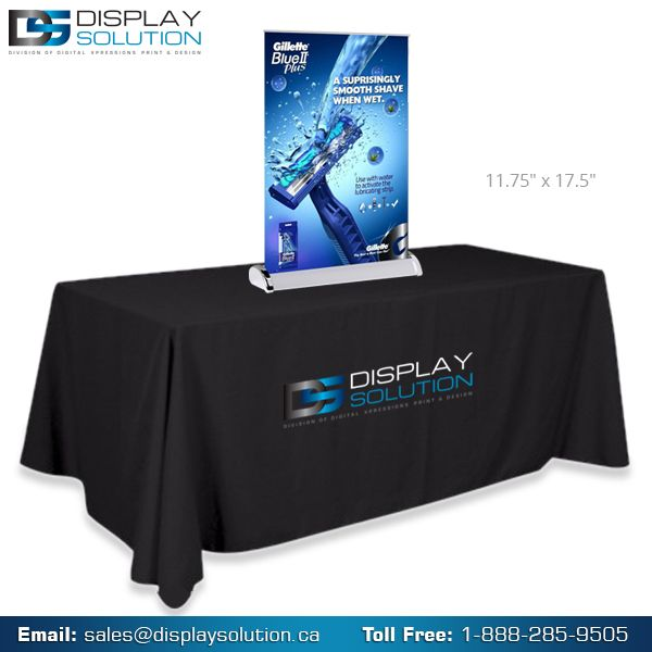 The table top banner stand is newest table top display. Because they are up close, they can be used to present more detailed information than a full-size display that is often viewed from a greater distance. This makes them an excellent ad on display that is inexpensive and, in most cases, has graphics that can be easily updated as needed. For more details visit us on https://displaysolution.ca/banner-stand/tabletop-banner-stands.html