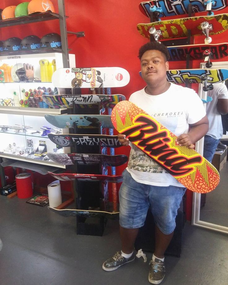 "Mad hyped we could hook the dude up with a fresh 8.375"" @blindskate ""Quake"" deck to keep him rolling this summer! Enjoy it stay stoked & skate safe bro!  Welcome to the #csskateshopfam! #csskateshop x #blindskateboards #damnitfeelsgoodtobeaskater"