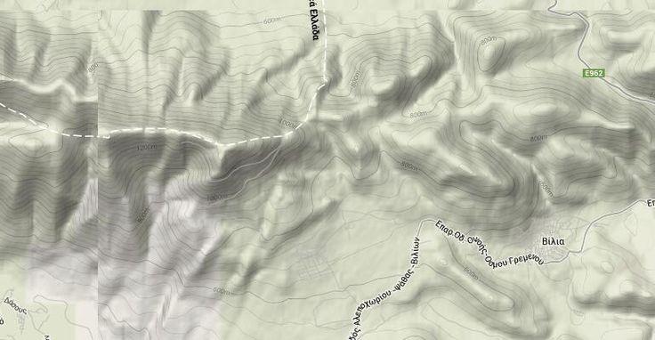 Διαδρομή με GPS: Βίλλια - Κιάφα Μούζα - Κιθαιρώνας | Περιοδικό Ανεβαίνοντας