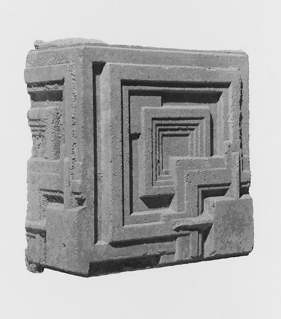 Concrete Block from the Charles Ennis House - Frank Lloyd Wright ca. 1924