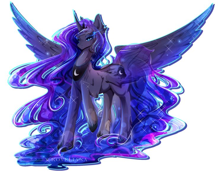 Princess Luna by Koveliana on DeviantArt