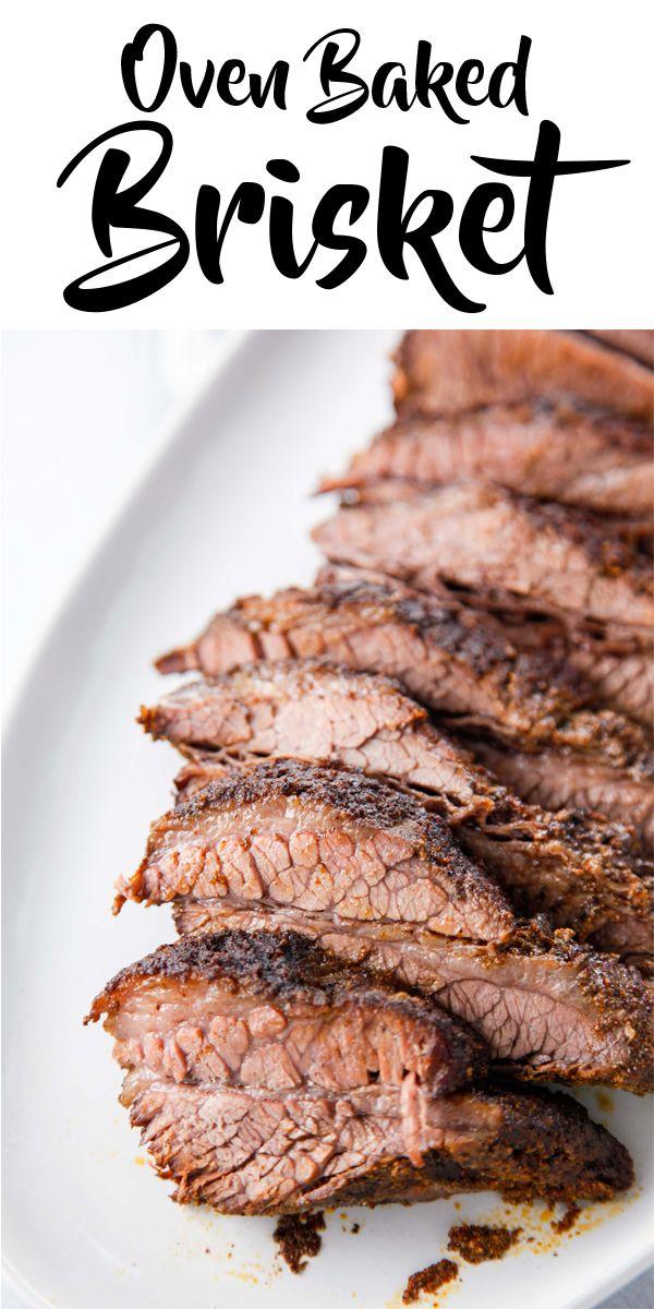 Oven Baked Beef Brisket Recipe Beef Brisket Recipes Baked Brisket Oven Baked Brisket