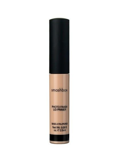 """""""Patting the tiniest dab of eye-shadow base or primer on the lids before your shadow will keep it in place,"""" says Linter."""
