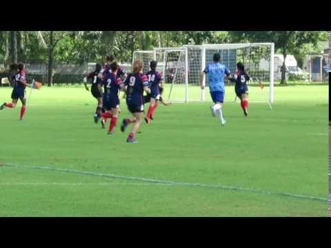 Woman's International Rugby 7's - Nina Wilson Try Saving Tackle