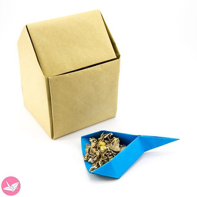 Twisted Round Origami Box Bowl Tutorial Origami Origami Boxes