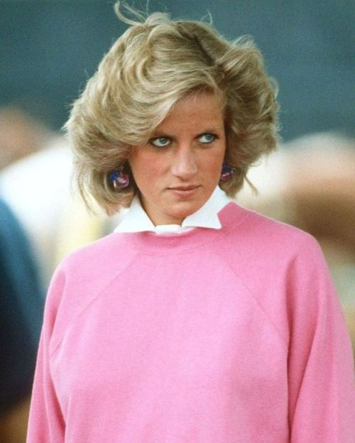 "boleyn36: ""Princess Diana (1961-1997) Appreciation Year Day 178: the princess at a polo match in Cirencester, 28 June 1984. """