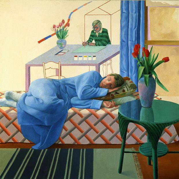 David Hockney celebrates 80th birthday with Tate Britain retrospective - Telegraph