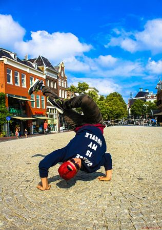 DanceIsMyHustle (BboyJayVisser) My Upload for #MyPx Personal Expression (Streets/HipHop/Breakdance) by MrOfColors Photography