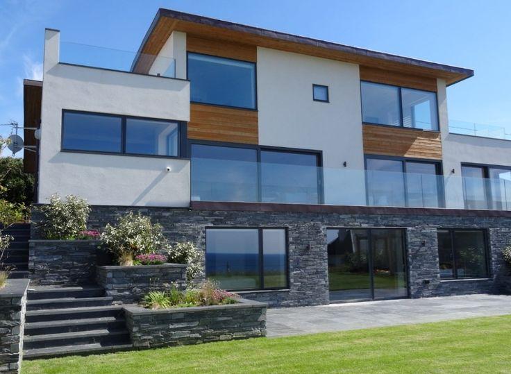 Beautiful modern designed villa with VELFAC glazing.