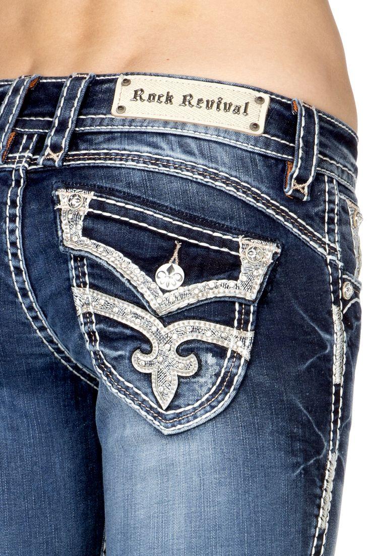 Rock Revival - STEPHANIE B40 BOOT CUT JEAN, $159.00 (http://www.rockrevival.com/women/stephanie-b40-boot-cut-jean/wj-rj8132b40-stephanie-b40/)