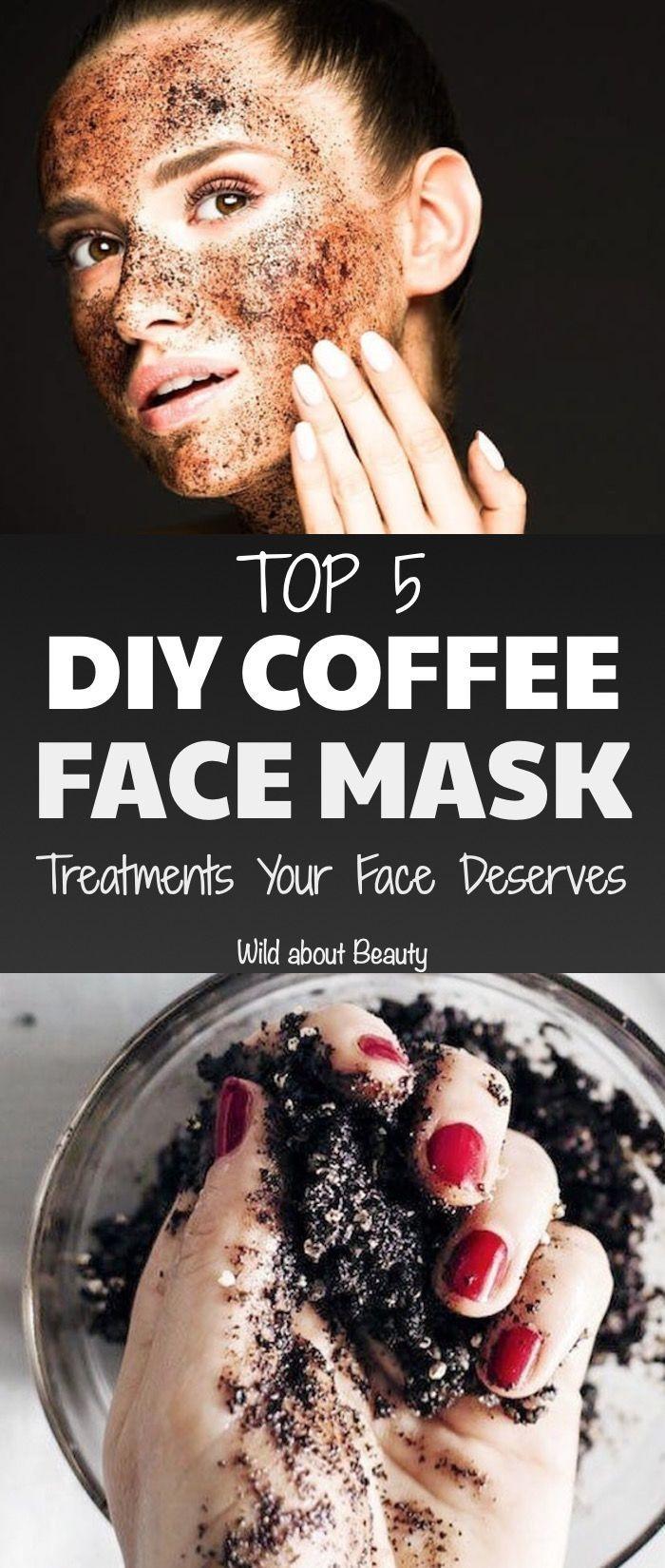 Top 5 DIY Kaffee Gesichtsmaske Behandlungen Ihr Gesicht verdient. #diy #diymask #diycof ...