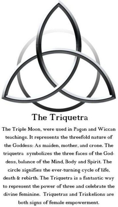 Triquetra My mum gave me a pair of earrings just like this!