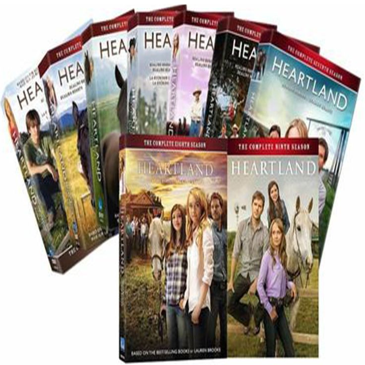 Heartland The Complete Seasons 1-9 Set on DVD