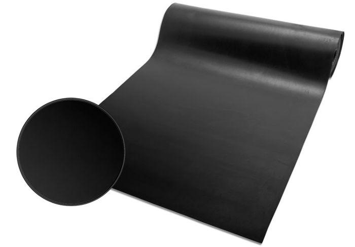 Gummimatte 5mm im Zuschnitt als Schalldämmung hinten