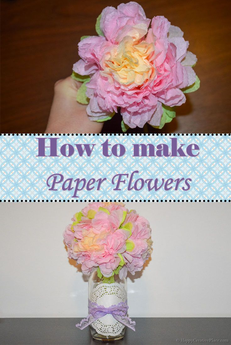 how to make crochet flowers tutorial