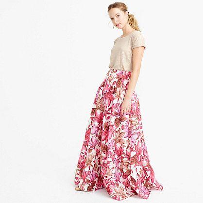 how to make a crinoline skirt