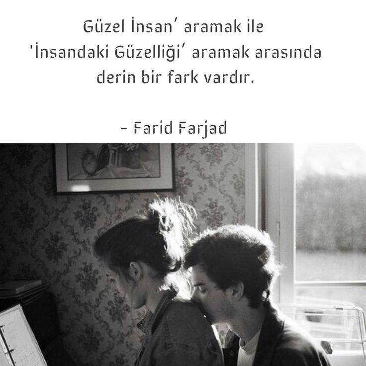 """""""Güzel insan"""" aramak ile """"İnsandaki güzelliği"""" aramak arasında derin bir fark vardır. - Farid Farjad (Kaynak: Instagram - neokumali) #sözler #anlamlısözler #güzelsözler #manalısözler #özlüsözler #alıntı #alıntılar #alıntıdır #alıntısözler #şiir #edebiyat"""