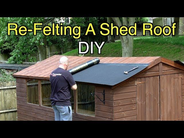 Trend How To Shingle A Shed Roof Video Ideas In 2020 Shed Roof Repair Shed Roof Roofing Felt