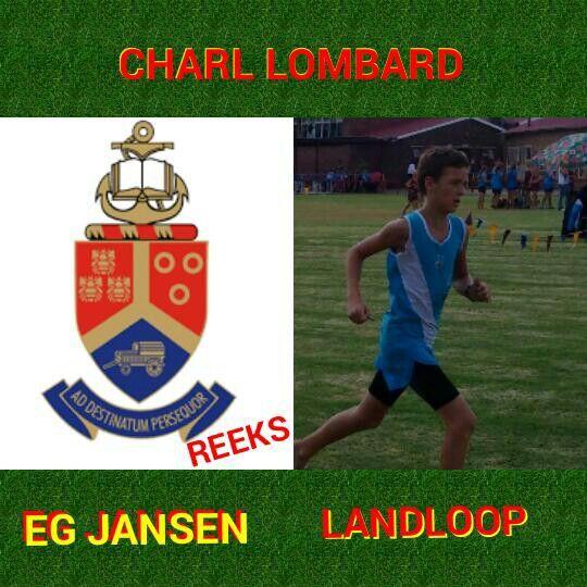 Charl Lombard Gaan na Tuks Reeks in Rustenburg