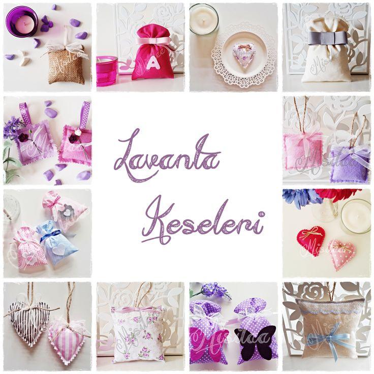 Lavanta Keseleri - Handmade Lavender Bags - www.misilaa.com