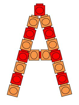 A FREE collection of colored alphabet pattern blocks! One for every letter! Great for math or literacy centers! Thank you! Enjoy! :)