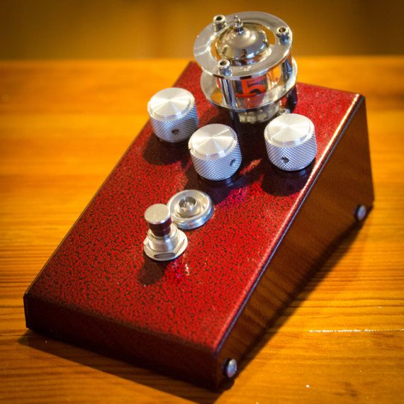Vintage tube overdrive pedal by GnarHeel Pedal Co.