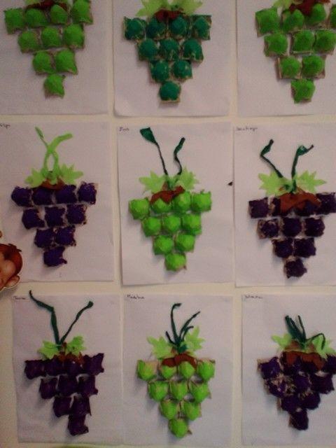Trabajo infantil racimo de uvas