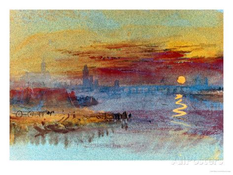 What Is Plein Air Painting? | William Turner Sunset on Rouen