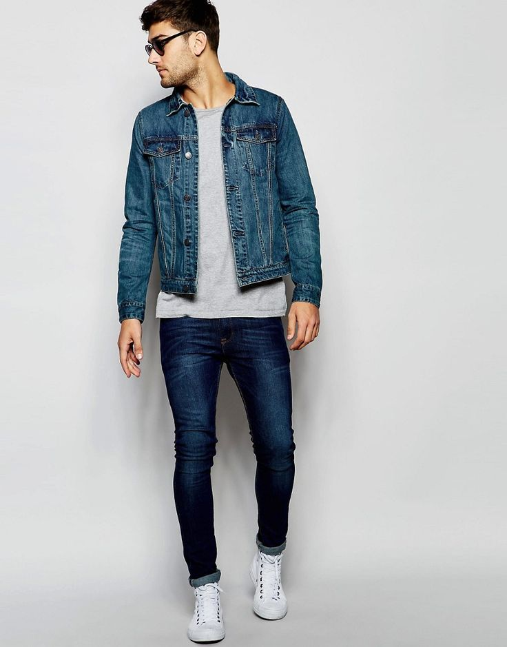 urbanclassakhs:  menstylica:  Denim Jacket  besides the jeans and shoes