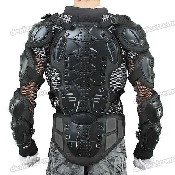 Motorcycle Body Protection Riding Armor Suit (XL/190cm)  Price: $52.00