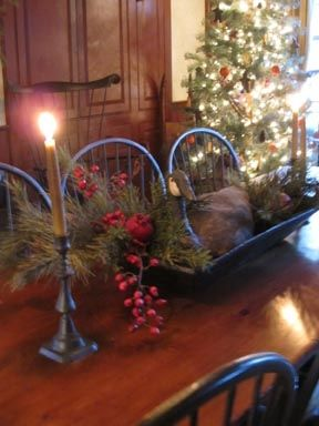 Primitive Christmas Tablescape...