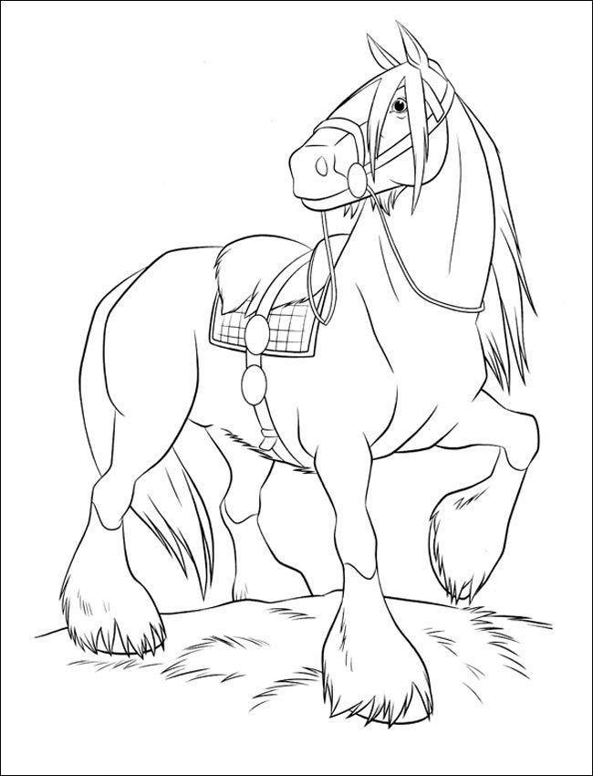die besten ausmalbilder zum ausdrucken pferde