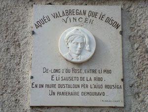Plaque Vannier de Vallabrègues