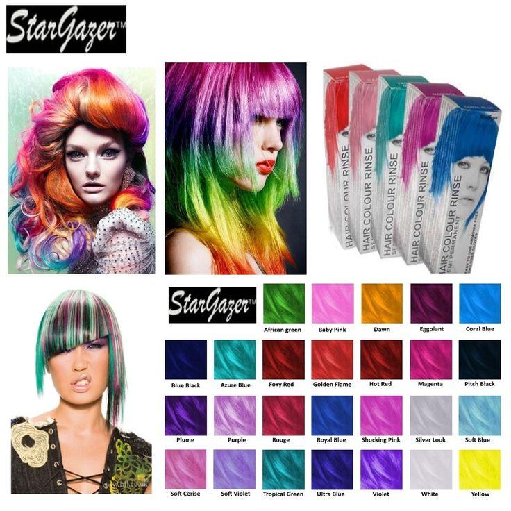 coloration cheveux semi permanente sans ammonique sans eau oxygne stargazer - Coloration Cheveux Semi Permanente