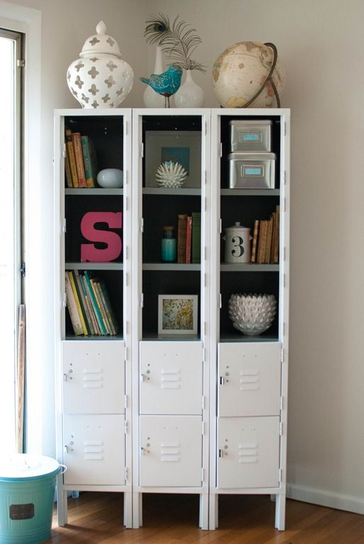 Ideas about repurposed lockers on pinterest