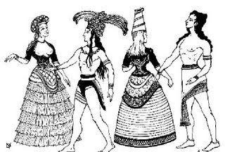 CABIDÊ: História da Indumentária - Creta