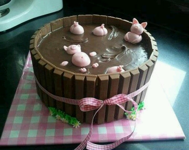Piggie pool party