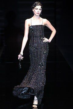 Armani Privé Spring 2005 Couture Fashion Show Collection