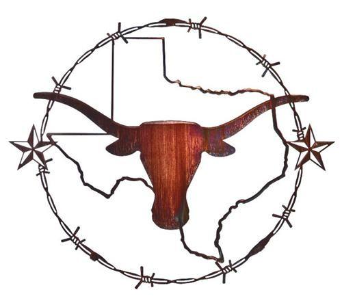 Wall Art Texas Longhorns Wall Decor Decor Metals Texas Longhorns