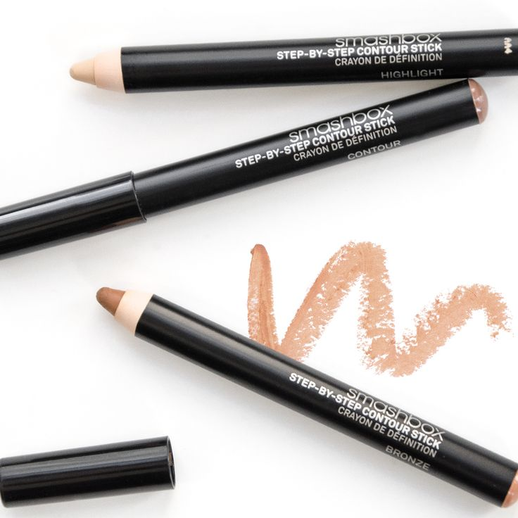 Contouring just got easier with Smashbox Cosmetics' bestselling kit—now available in pencil form. #Contour #beauty