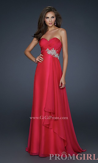 Elegant Long Strapless Prom Dress at PromGirl.com http://www.promgirl.com/shop/dresses/viewitem-PD747253
