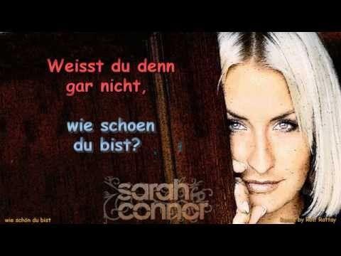 Sarah Connor   Wie schön du bist   Instrumental with Lyrics Remix by Rol...