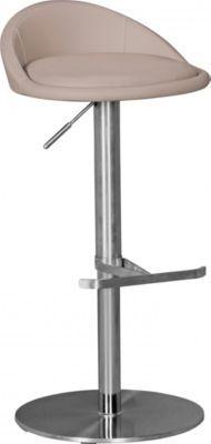 Wohnling WOHNLING Durable M1 Barhocker Edelstahl taupe Barstuhl modern Hocker verstellbar Design Tresenhocker ist drehbar Jetzt bestellen unter: https://moebel.ladendirekt.de/kueche-und-esszimmer/bar-moebel/barhocker/?uid=1714ecfb-680b-5cb2-b9f9-976e8c6dceb2&utm_source=pinterest&utm_medium=pin&utm_campaign=boards #barhocker #kueche #stehtische #esszimmer #barmoebel