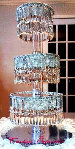 Sale Cupcake Tower 4 tiers. Cupcake stand. by FashionProposals