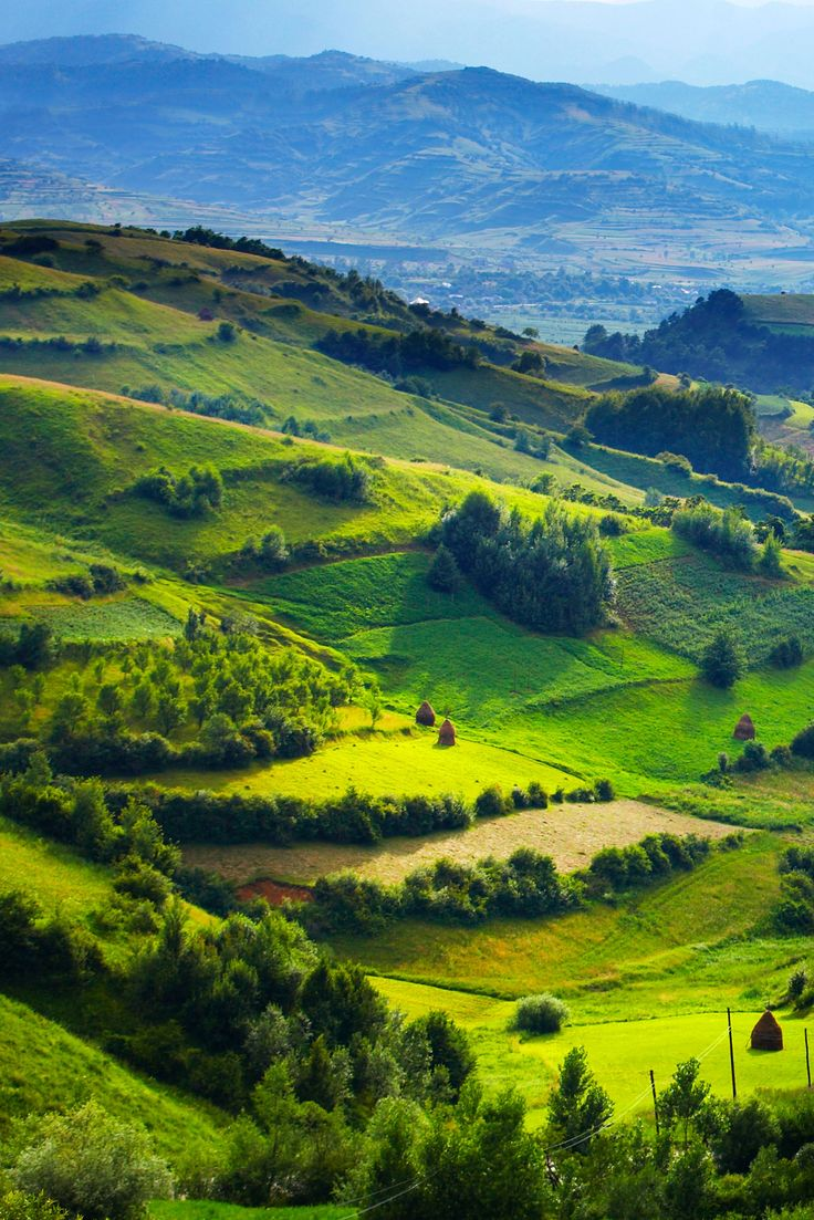 Romania - specifically, the county of Maramureș, spread over four river valleys in the Carpathian Mountains, and home to centuries-old ways of rural life