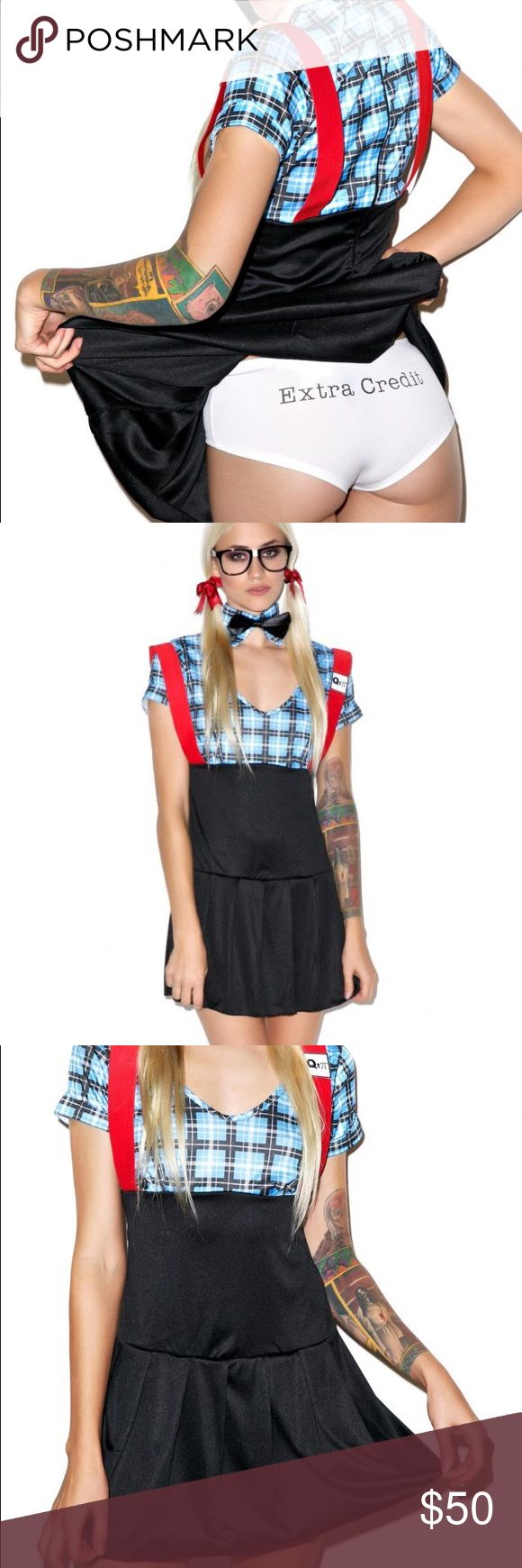 4pc britney spears sexy nerd costume set boutique - Naughty Librarian Halloween Costume