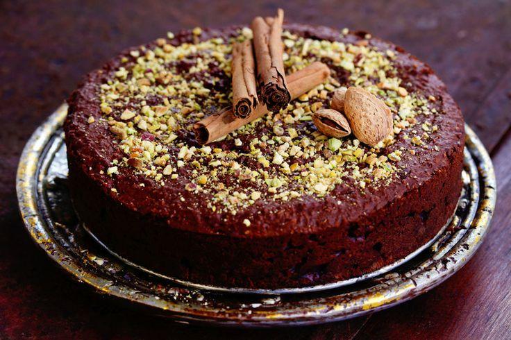 Tort czekoladowy z fasolą