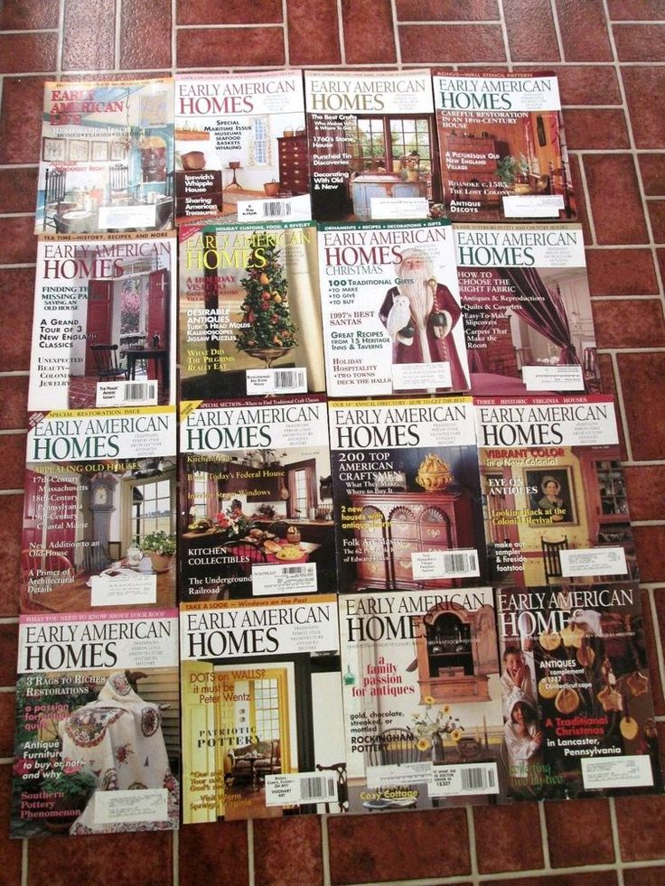 Early American Homes Life Magazine lot of 16 History Pioneers 1996-2000 country