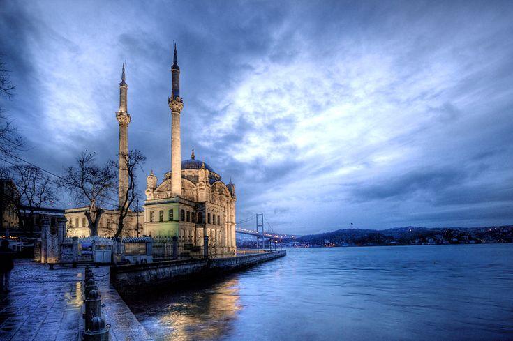 Big Mecidiye Mosque by EtemColaK.deviantart.com on @deviantART